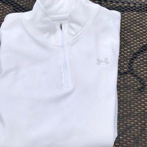 UA 1/4 zip cold gear pullover